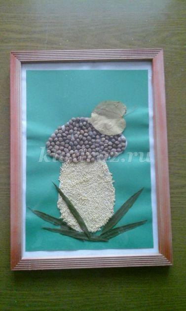 Поделки из природный материал конспект занятия с детьми