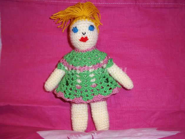 Вяжем куклу на ютубе 100