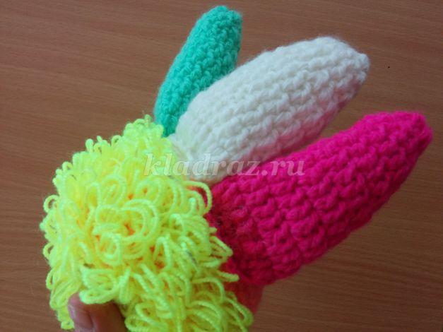 Игрушки своими руками из ниток для вязания