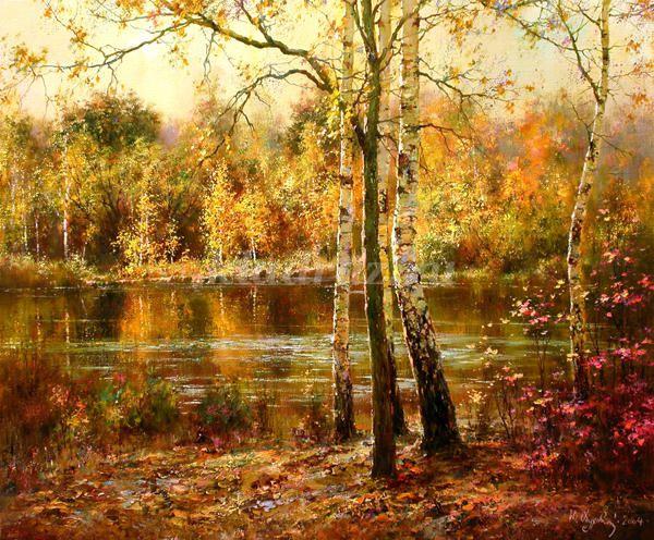 Картинки на тему осень пейзаж