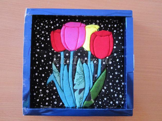 Панно в коробке из конфет своими руками 57