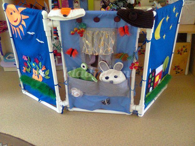 Ширмы для детского сада своими руками фото из труб 586