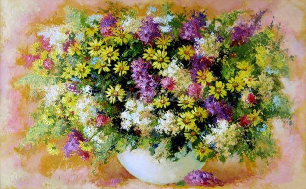 Букет цветов своими руками из живых цветов фото 272