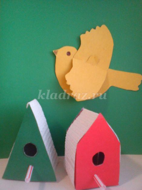 Поделка птица своими руками в детском саду