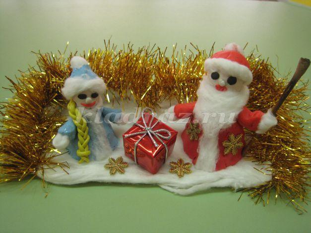 Новогоднее украшение своими руками в школе