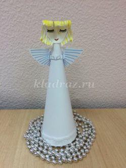 Мастер-класс по изготовлению новогоднего подарка «Бумажный Ангел»