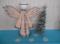 Рождественский ангел для детей своими руками. Мастер – класс с подробным описанием и фото