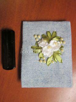 Футляр для флешки из джинсовой ткани своими руками. Мастер-класс с пошаговыми фото