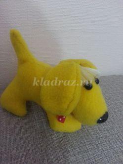 Мягкая игрушка Собачка своими руками. Выкройки. Мастер-класс с пошаговыми фото