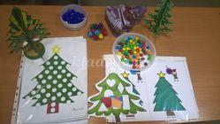 Новогодние задания по ФЭМП для детей 3-5 лет