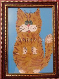 Рисование Кошки гуашью поэтапно с фото для детей