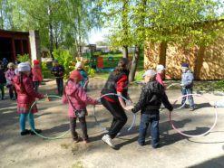 Сценарий физкультурного развлечения на воздухе для детей 5 - 7 лет