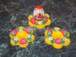 Мастер-класс «Подарки к Пасхе» в технике лепка из цветного солёного теста