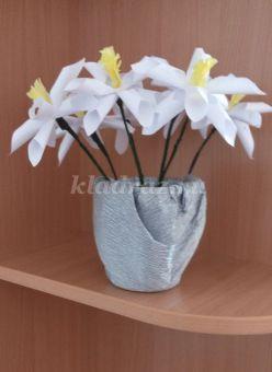 Мастер-класс с пошаговым фото: «Цветы для любимой мамы»
