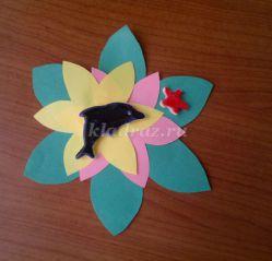 Подарок для мамы «Весенний цветок». Мастер-класс с пошаговым фото