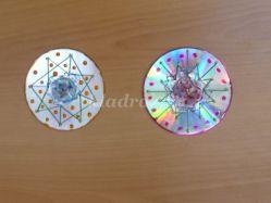 Поделки из бросового материала. Мастер-класс по украшению старого CD диска
