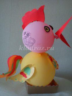 Мастер-класс поделок из бумаги своими руками к празднику Пасхи «Петушок и курочка»