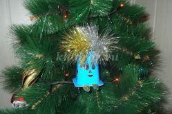 Изготовление новогодней игрушки с сюрпризом. Мастер-класс с пошаговыми фото