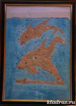 «Мозаика из яичной скорлупы» Мастер класс с пошаговой инструкцией