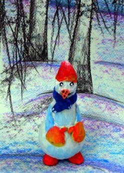 Снеговик своими руками. Мастер-класс с пошаговыми фото
