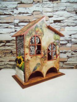 Декор двойного чайного домика своими руками. Мастер - класс с пошаговыми фото