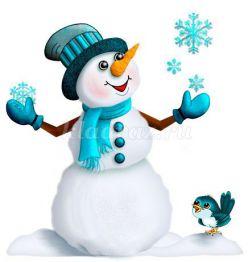 Конспект НОД по развитию связной речи для детей средней группы «Зима»