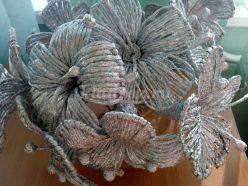 Цветы из фольги своими руками. Пошаговая инструкция с фото