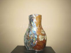 «Пламя и лёд». Мастер-класс по изготовлению вазы из бросового и природного материала.
