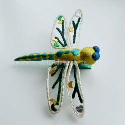 Мастер-класс по рукоделию: «Ёлочная игрушка – стрекоза»