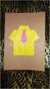 Поделка к празднику 23 февраля для младшей группы детского сада: «Рубашка для папы». Мастер-класс с пошаговыми фото