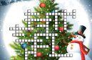 Дидактическая игра – кроссворд с вопросами-загадками «Новогодние забавы» для детей подготовительной группы
