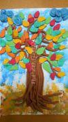 Мастер-класс «Яркие краски осени» (Осенние деревья из соленого теста)
