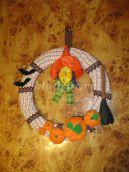 Мастер-класс «Изготовление декоративного венка для празднования Хэллоуина»