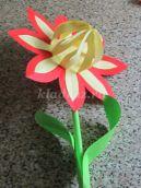 Объемный цветок из бумаги. Подарок ко дню Матери. Мастер-класс с пошаговыми фото