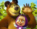 Маша и медведь в гостях у выпускников подготовительной группы
