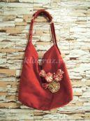 Декорирование текстильной сумки своими руками. Мастер-класс с пошаговыми фото