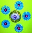 Объёмные бумажные цветы для украшения интерьера своими руками