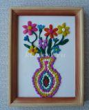 Ваза с цветами из цветного пластилина. Мастер-класс с пошаговыми фото