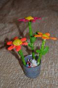 Мастер-класс «Букет летних цветов»