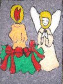 Аппликация «Рождество». Мастер-класс с пошаговым фото