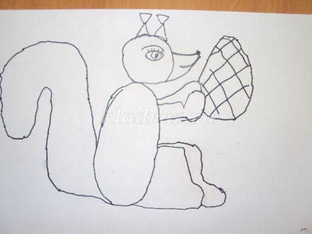 Рисуем животных с помощью фигур
