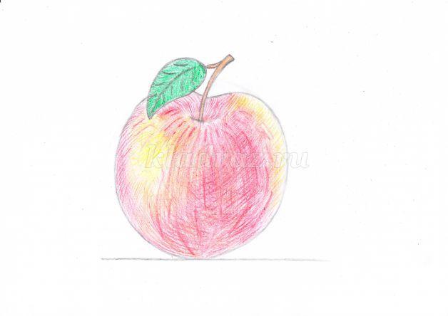 Как правильно раскрашивать рисунки карандашом для