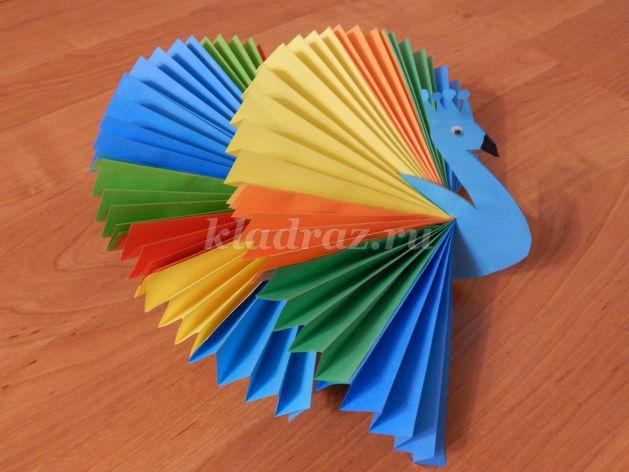Мастер класс птицы счастья из бумаги