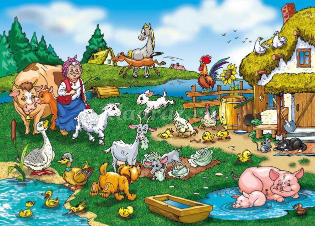 Сбор урожая для детей картинка