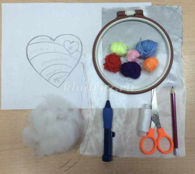 Вышивка петлёй для детей