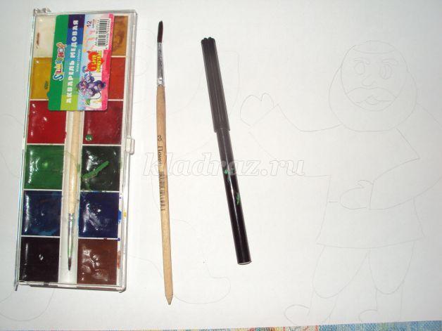 Рисовать детям акварельными красками