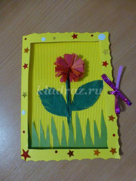 Инструкция открытки для бабушки