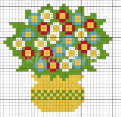 Мозаика техника схемы
