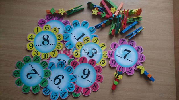 Дидактические игры своими руками для детей 6-7 лет по математике