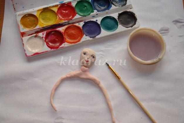 Как сделать волосы кукле из ниток или пряжи. Мастер 62
